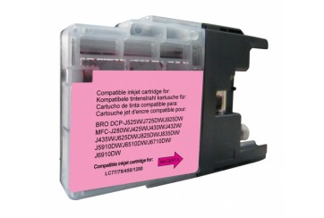 Brother LC1280 Magenta | Cartouche d'encre Compatible Brother LC-1280