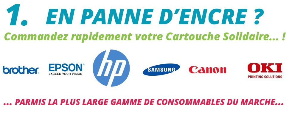 Cartouche, Toner Solidaire Moins Cher