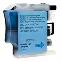 Brother LC123 Cyan, cartouche d'encre compatible Brother LC123C de 600 pages. Garantie 1 an.