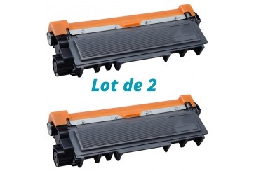 Brother TN-2320 Noir Eco | 2 Toners Laser Compatible Brother TN2320