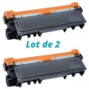 Brother TN-2320 Noir Eco   2 Toners Laser Compatible Brother TN2320