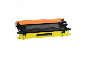 Brother TN-135 Y Jaune |Cartouche Toner Laser Compatible pas cher pour Brother TN135 Y
