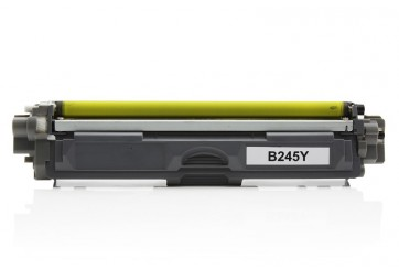 Brother TN245 Jaune, cartouche Toner compatible Brother TN245 (TN-245) de 2200 Pages. Garantie 1 an.