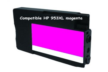 Cartouche d'encre compatible HP 953XL / F6U17AE Magenta 26ml / 1600 pages.