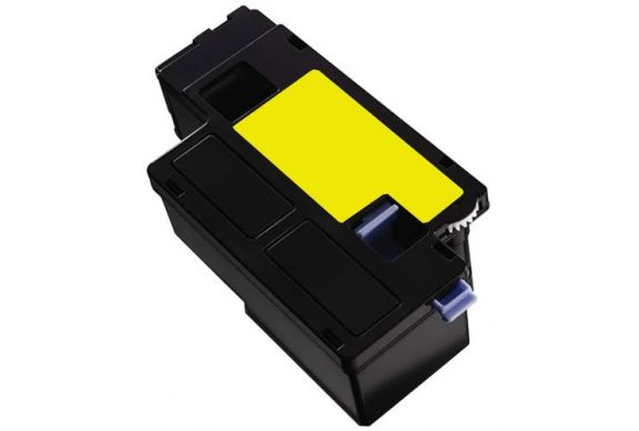 Dell 1250/1355 Jaune, cartouche Toner compatible Dell 1250/1355 (59311019) de 1400 Pages. Garantie 1 an.