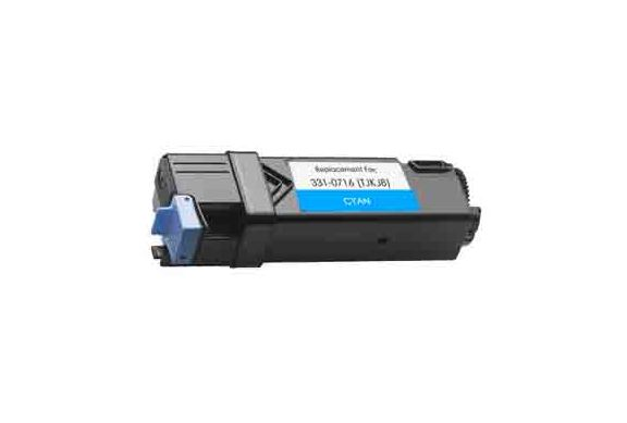 Dell 2150 Cyan, cartouche Toner compatible Dell 2150 (76985) de 2500 Pages. Garantie 1 an.