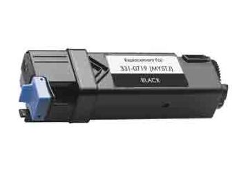 Dell 2150 Noir, cartouche Toner compatible Dell 2150 (N51XP) de 3000 Pages. Garantie 1 an.