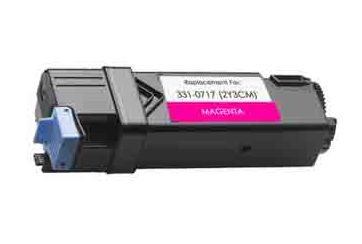 Dell 2150 Magenta, cartouche Toner compatible Dell 2150 (8WNV5) de 2500 Pages. Garantie 1 an.