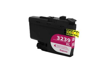 Brother LC-3239XLM Magenta (LC3239XLM), cartouche d'encre compatible Brother LC-3239XLM de 5 000 pages. Garantie 1 an.