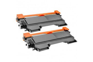 Brother TN2220 Noir | Lot de 2 Toners Compatibles Brother TN-2220