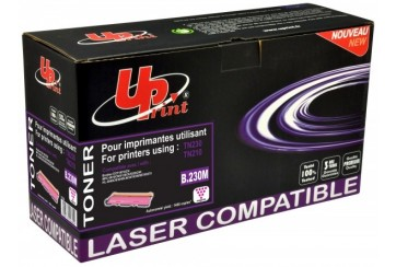 Brother TN-230M Magenta | Toner Laser de marque Uprint équivalent Brother TN230M Magenta