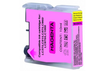 Brother LC1000M Magenta |Cartouche d'encre Compatible pas cher pour Brother LC-1000M