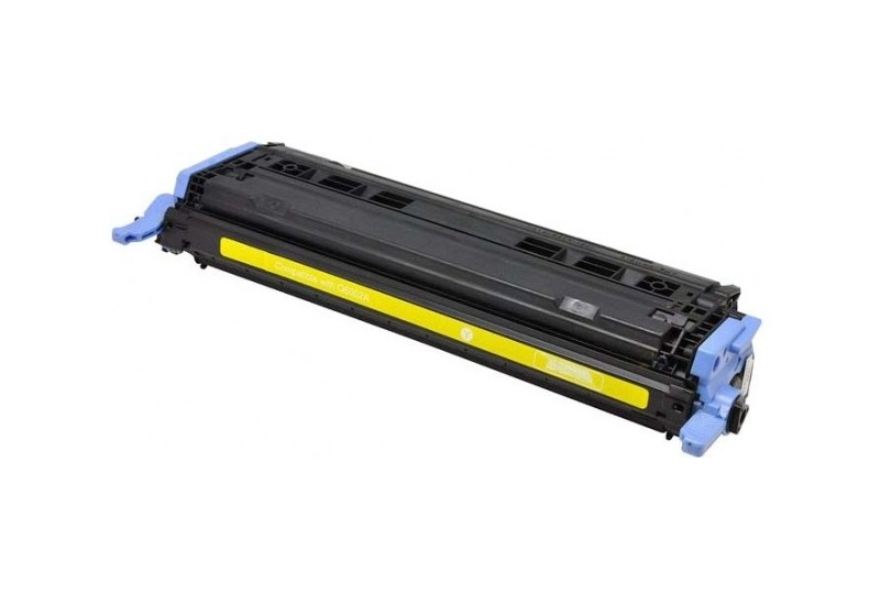 hp q6002 jaune cartouche toner compatible 124a 2000 pages. Black Bedroom Furniture Sets. Home Design Ideas