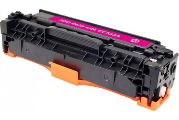 HP CC533 Magenta, cartouche toner compatible HP 304AM de 2800 pages. Garantie 1 an.