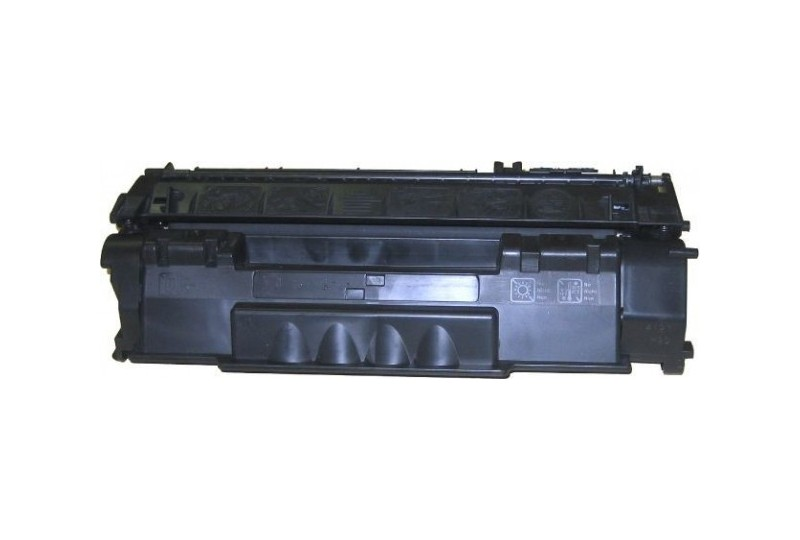 hp q7553a noir cartouche toner compatible 53a 3000 pages. Black Bedroom Furniture Sets. Home Design Ideas