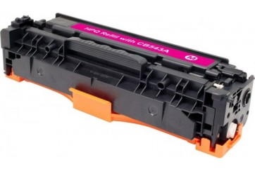 HP CB543A Magenta, cartouche toner compatible HP 125AM de 1400 pages. Garantie 1 an.