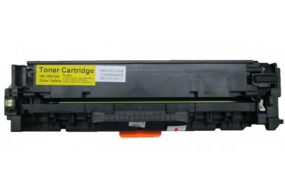 hp ce412a jaune cartouche toner compatible 305ay 2600 pages. Black Bedroom Furniture Sets. Home Design Ideas