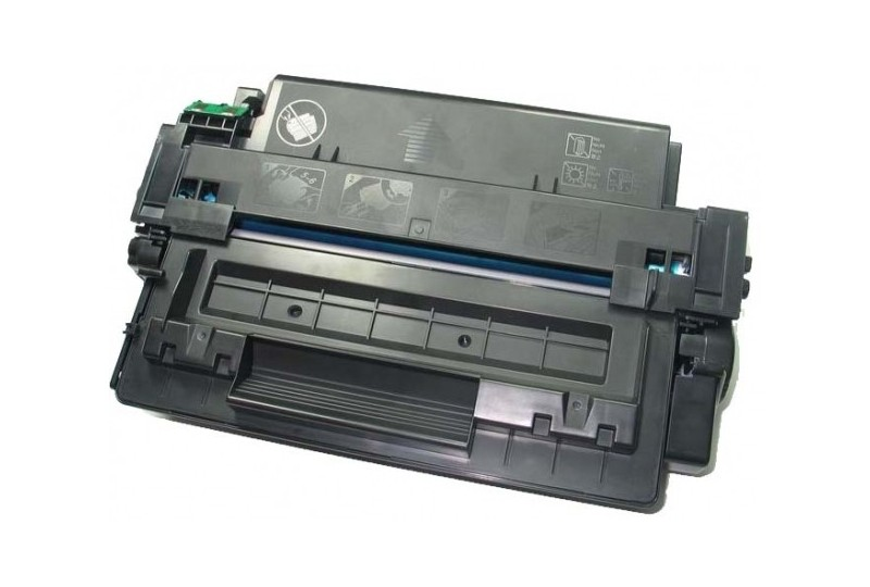 hp q7551x noir cartouche toner compatible 51x 13000 pages. Black Bedroom Furniture Sets. Home Design Ideas