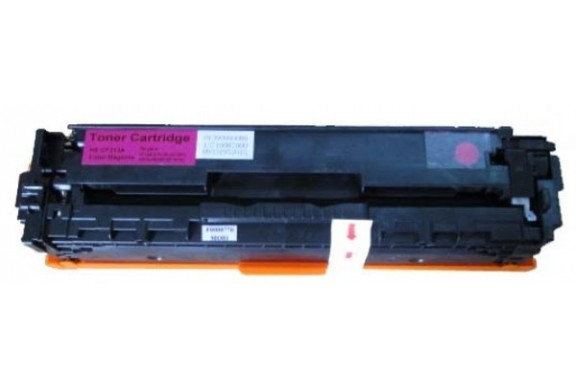 HP CF213A Magenta, cartouche toner compatible HP 131AM de 1800 pages. Garantie 1 an.