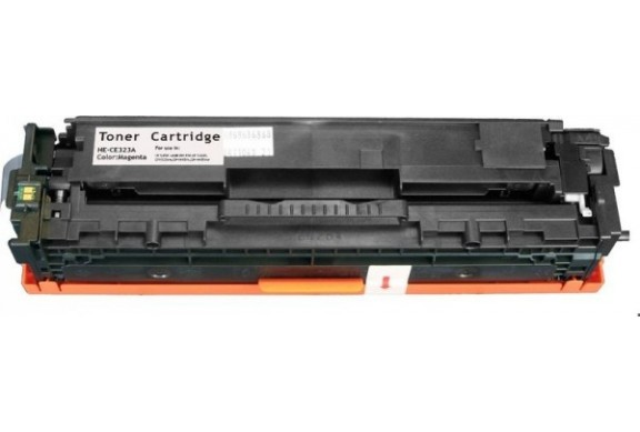 HP CE323A Magenta, cartouche toner compatible HP 128AM de 1300 pages. Garantie 1 an.