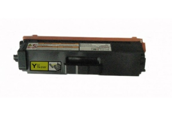 Brother TN-325 Jaune, cartouche toner compatible Brother TN325Y de 3500 Pages. Garantie 1 an.