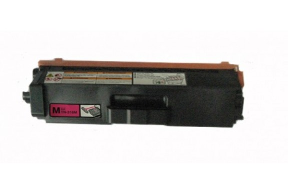 Brother TN-325 Magenta, cartouche toner compatible Brother TN325M de 3500 Pages. Garantie 1 an.
