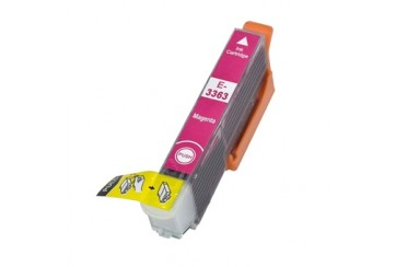 Epson 33XL Magenta (T3363), cartouche d'encre compatible Epson Orange de 650 pages / 12ml. Garantie 1 an.