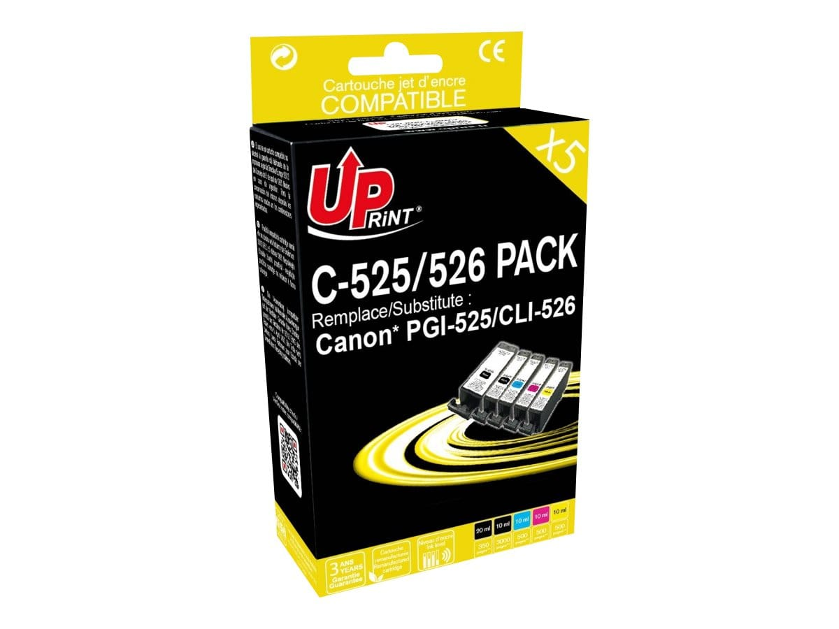 Pack Uprint Canon Pgi525 / CLI526