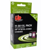 Pack Uprint H.301XL pour HP 301XL