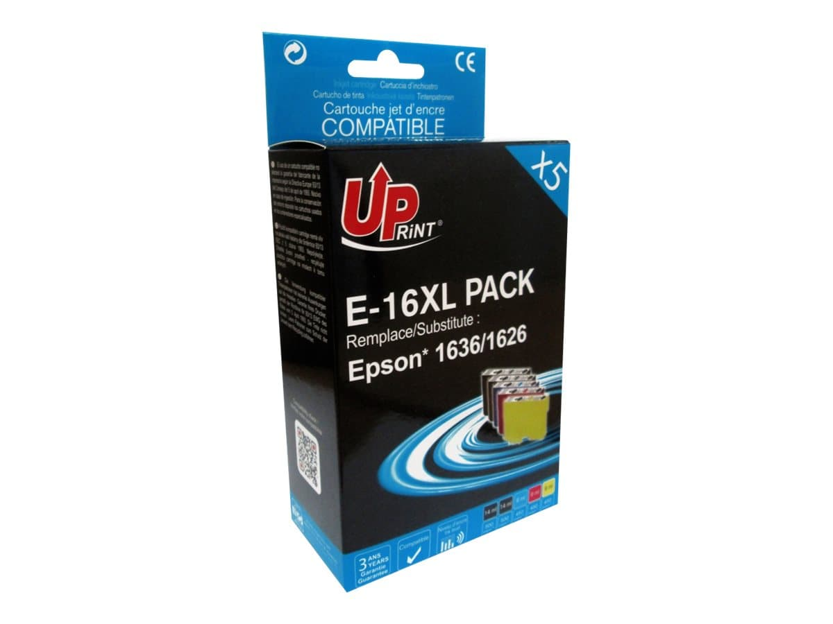 Pack Uprint 16XL Epson Stylo Plume